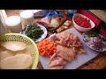 صينية البطاطس مقلية بالدجاج والموزريلا لذيذه من قناة المورزليرا (:
