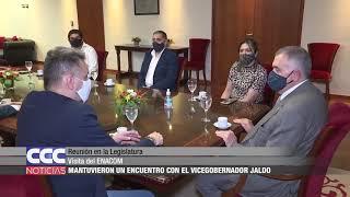 Reunión en la Legislatura