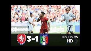 Czech Republic vs Italy All Goals And Highlights  UEFA EURO U21 2017 FULL TIME ⏰ 🇨🇿⚽️ Trávník 24 🇮🇹⚽️ Berardi 70 🇨🇿⚽️ Havlík 79 🇨🇿⚽️ Lüftner 85 UEFA Euro Un...