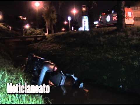 Motorista morre afogado ao cair com carro dentro de rio