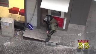 SAMSUN'DA İSTİKLAL CADDESİNDEKİ ŞÜPHELİ POŞET POLİSİ HAREKETE GEÇİRDİ...