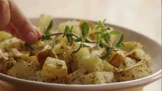 Watch how to make easy oven roasted potatoes. This classic side dish—for breakfast or dinner—is especially flavorful, with olive ...