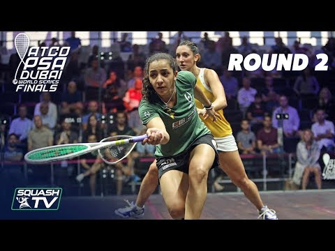 Squash: World Series Finals 2017/18 - Women's Rd 2 Roundup