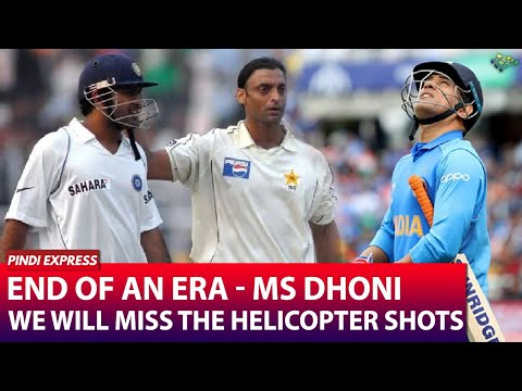 The Star of the Game Retires   Will Never Forget the PHAINTAS inflicted by MS Dhoni   Shoaib Akhtar