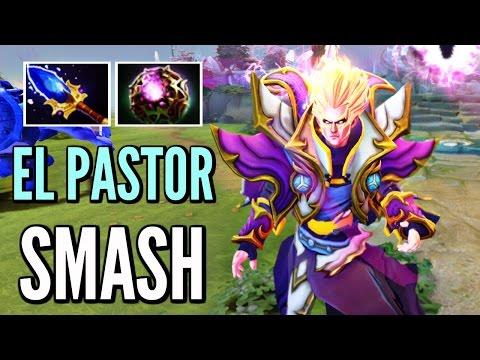 Smash Pro Invoker Dota 2 - Super Saiyan Skills Top 8600 MMR US Gameplay