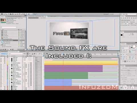 *FREE* 1080p After Effects Intros! [+ Sound FX, Textures, Fonts!]