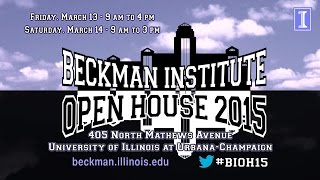 Thumbnail of Visit the 2015 Beckman Institute Open House video