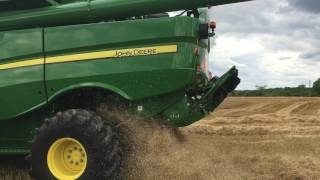 Video 2018 John Deere S770 Combine: Footage From the Field 1 MP3, 3GP, MP4, WEBM, AVI, FLV November 2017