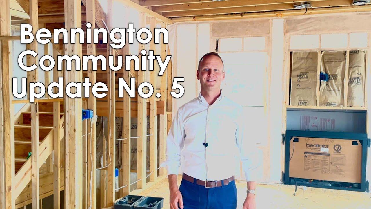Bennington Community Update No. 5