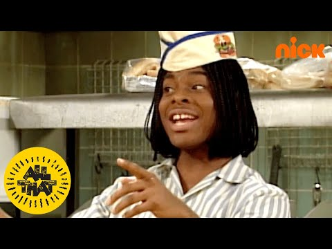 Classic Good Burger Sketch w/ the Whole Cast of All That | #TBT