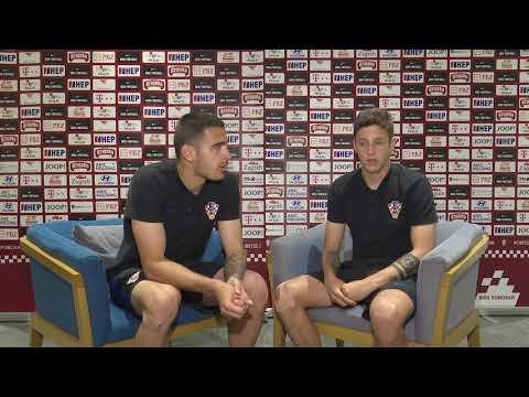 Hrvatska U-21 2U1: Sandro Kulenović i Domagoj Bradarić
