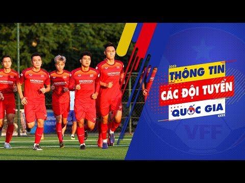 U22 Việt Nam hứng khởi tập luyện buổi đầu tiên hướng tới SEA Games 30