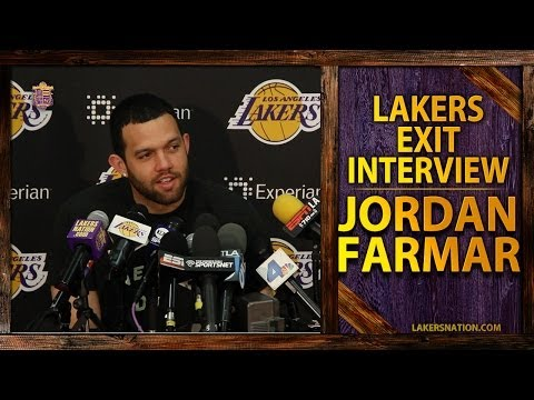 Video: Lakers Exit Interviews 2014: Jordan Farmar, 'Kobe's Kobe. He Doesn't Change For Anybody