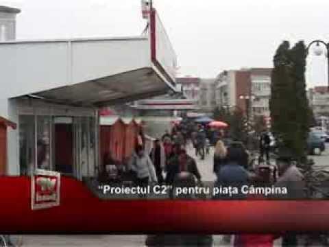 """""""Proiectul C2"""" pentru piața Câmpina"""