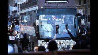 passage de la caravane du président Macky Sall à Cambérène