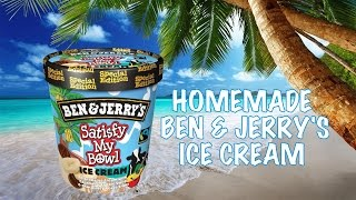 "Glace Ben & Jerry's ""Satisfy My Bowl"""