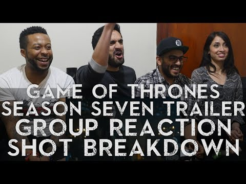 Game of Thrones - Season 7 Trailer - Group Reaction + Breakdown!!