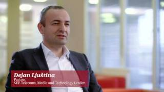 Dejan Ljustina, PwC partner and SEE Telecoms, Media and Technology Leader
