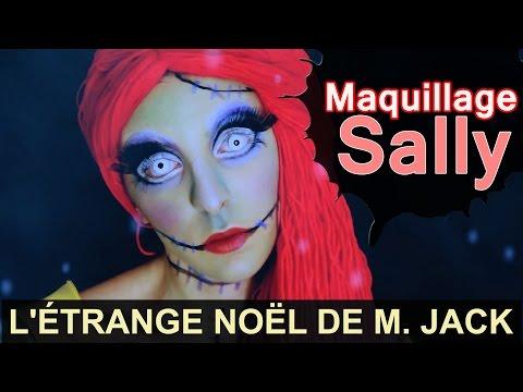Costume & Maquillage SALLY de l'Etrange Noël de Monsieur Jack (sous-titré)