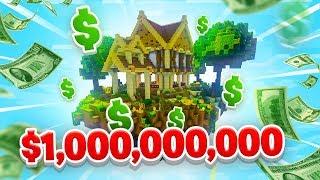 MY FIRST BILLION! - Minecraft SKYBLOCK #22