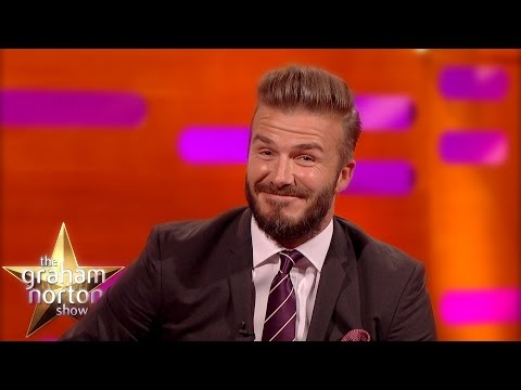 David Beckham tells a funny story about having to referee his son's soccer game when their referee failed to show up. Taken from the Graham Norton Show this week. Hugh Jackman was also a guest on the show.