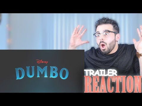 Dumbo Official Teaser Trailer Reaction And Review