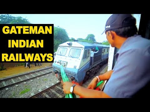 Gateman of Indian Railways Gateman in Trains Gangman