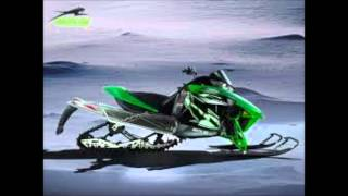 10. The 2013 to 2012 sleds of arctic cat