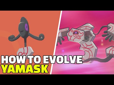 Pokemon Sword & Shield   How To Evolve Galarian Yamask into Runerigus