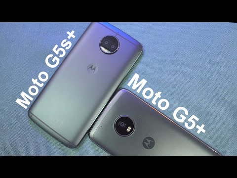 Moto G5s Plus vs Moto G5 Plus Comparison