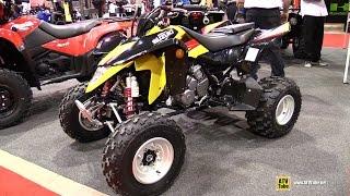 5. 2014 Suzuki Quad Sport Z400 Sport ATV - Walkaround - 2015 Salon Expert Chasse Peche Quebec
