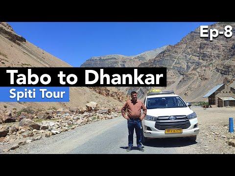 EP 8 -  Tabo to  Dhankar   Things to do in Tabo, Dhankar lake    Spiti Valley, Himachal Pradesh