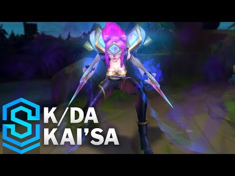 Kai'sa Thần Tượng Âm Nhạc - K/DA Kai'sa