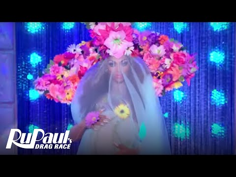 Flower Power Runway 'Extended Scene'   RuPaul's Drag Race All Stars