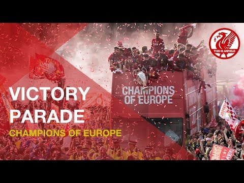 Liverpool FC Champions of Europe Parade