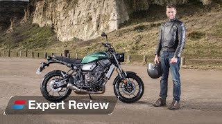 3. 2016 Yamaha XSR700 bike review