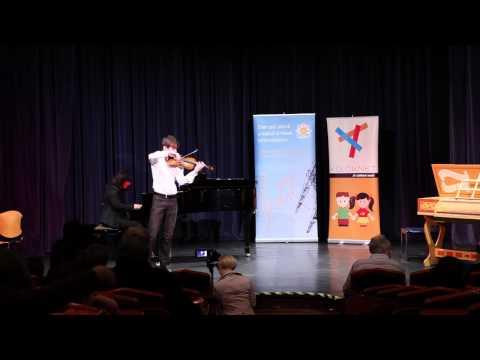Adj teret a tehetségnek! 2013 - Scwartz Zoltán (hegedű) produkciója