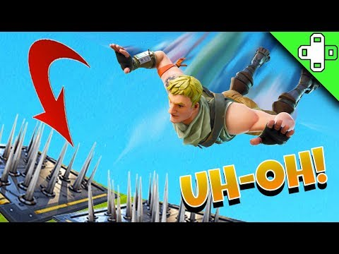 TRAP FACE PLANT! Funny Fortnite Moments 107