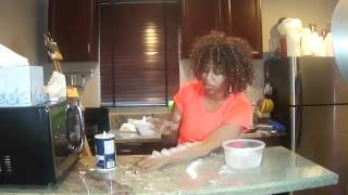 Salt and Ice Challenge     W  Lipstick on her teeth     GloZell   YouTube2