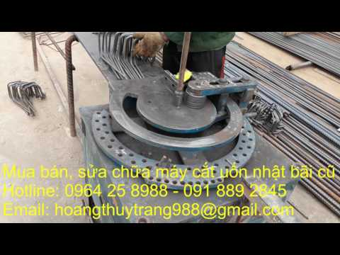 0964 25 8988   Đại lý mua bán, sửa chữa máy cắt uốn nhật bãi cho các công trường xây dựng