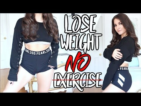 How To Lose Weight WITHOUT EXERCISE ! (видео)
