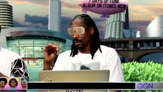 """Snoop Dog w mistrzowski sposób naśladuje rapowanie """"nowej fali"""""""