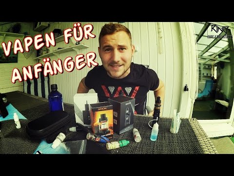 E-SHISHA / VAPE FÜR ANFÄNGER!! | RinO