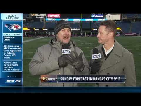 Video: How The Patriots Will Play Football In Single Digit Degree Temperatures