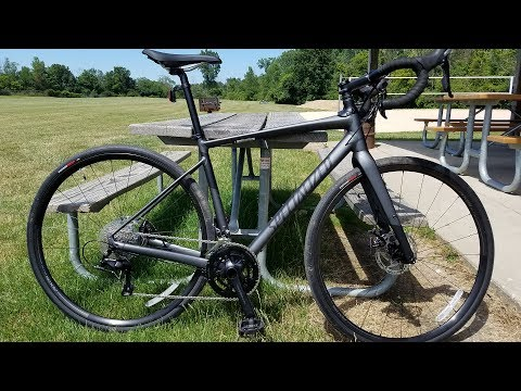 2018 Specialized Diverge Comp E5 Walkaround and Test Ride