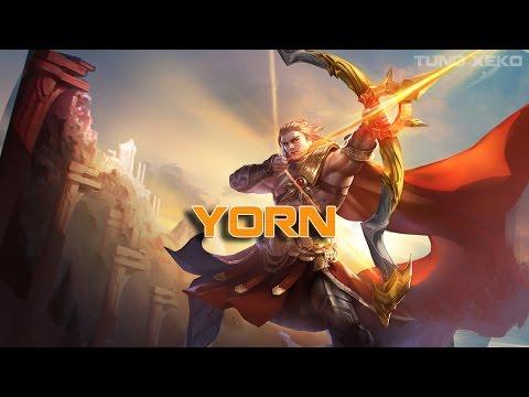 Hướng dẫn chơi Yorn - Mũi Tên Mặt Trời - Liên Quân Mobile - Realm of Valor - Thời lượng: 48:44.