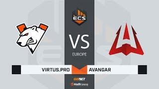 [RU] Virtus.pro vs AVANGAR   Map 1 – Inferno   ECS Season 7 Europe