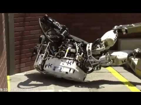 A Compilation of Robots Falling Down at the DARPA Robotics