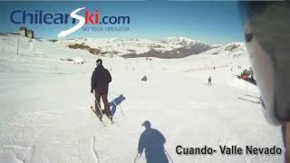 Vídeos de pistas de Valle Nevado