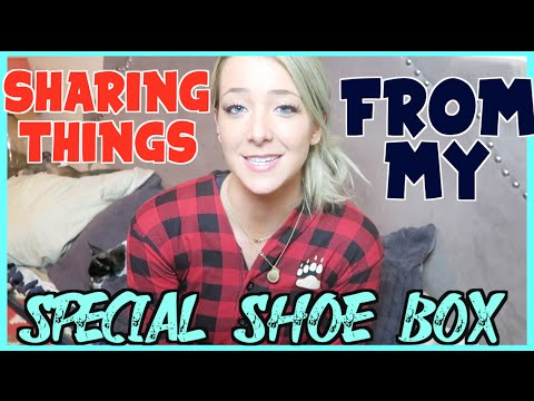 Sharing Things From My Special Shoebox